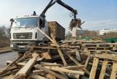 Ликвидирована стихийная свалка в городском округе Истра